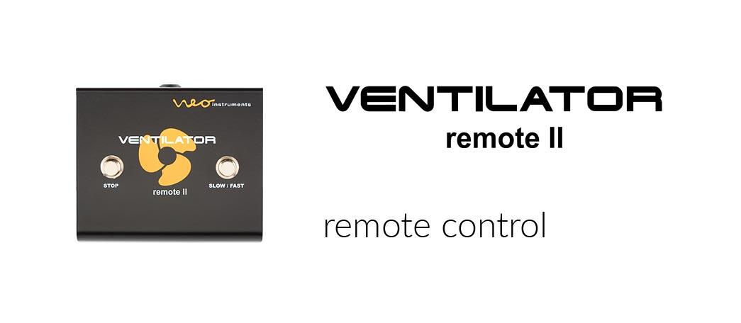 neo instruments - ventilator remote2